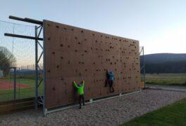 Venkovní lezecká stěna – boulder